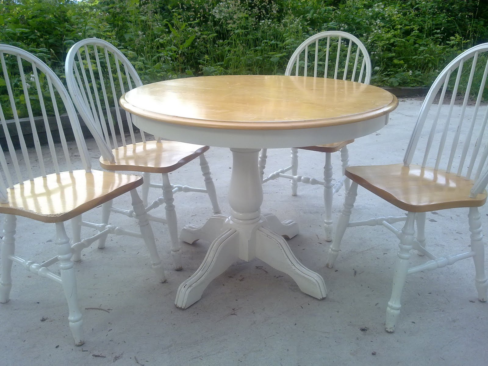 Shabby Chic Kitchen Table Sets - Castrophotos