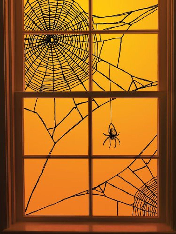 Fullsize Of Halloween Window Decorations
