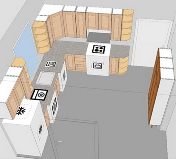 ideas solve small kitchen design layout problem home decor small kitchen island ideas space part kitchen