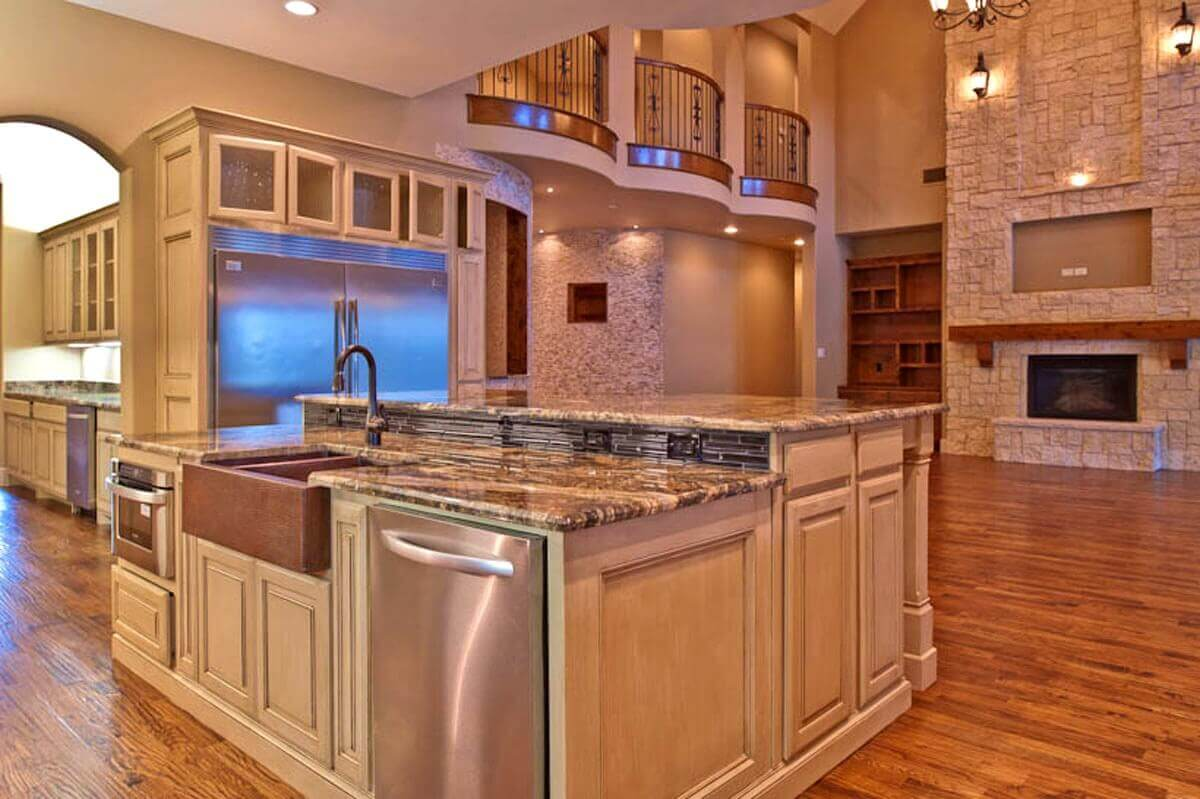 Kitchen Islands With Dishwasher 68+deluxe Custom Kitchen Island Ideas (jaw Dropping Designs)