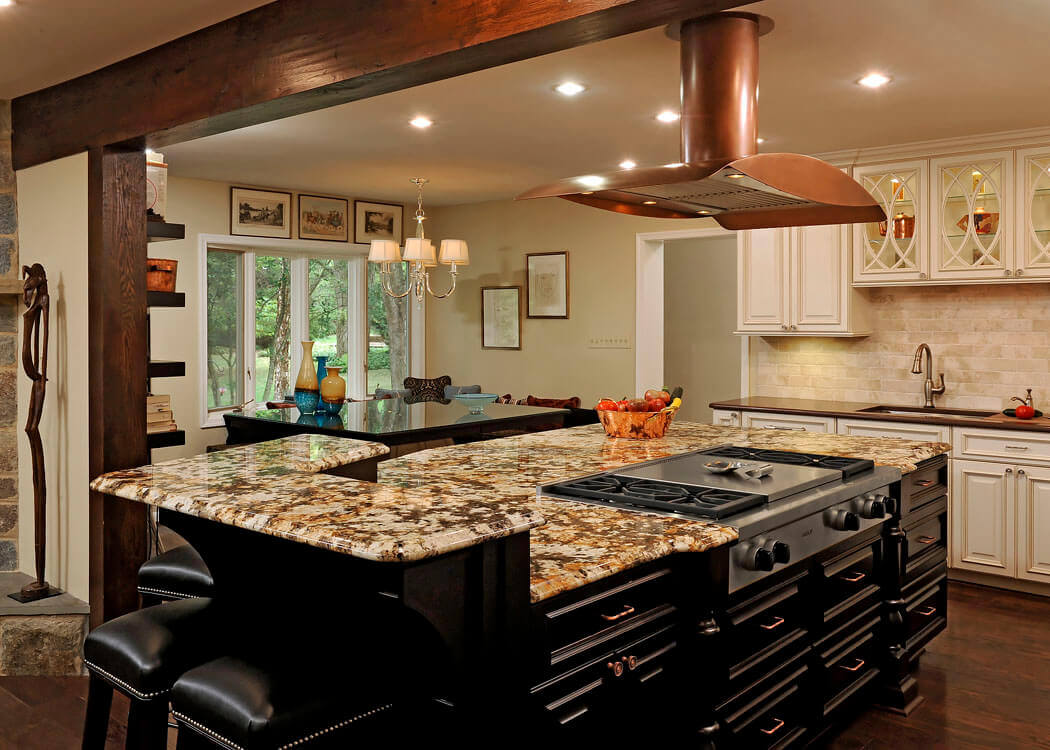 Granite Top Kitchen Island With Seating 68+deluxe Custom Kitchen Island Ideas (jaw Dropping Designs)