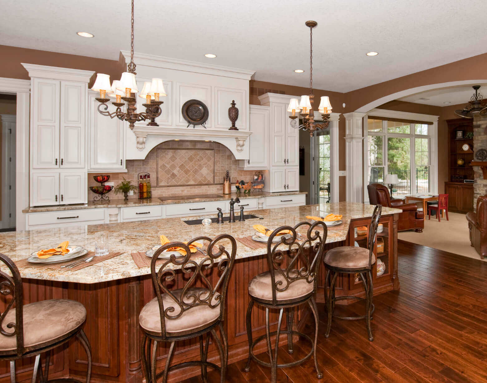 Luxury Kitchens With Islands Luxury Kitchen Islands With Stools