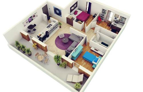 Shapely Designs Home Dedicated Small Apartment Designs Plans Three Bedroom Flat Apartment Map Plans Apartments