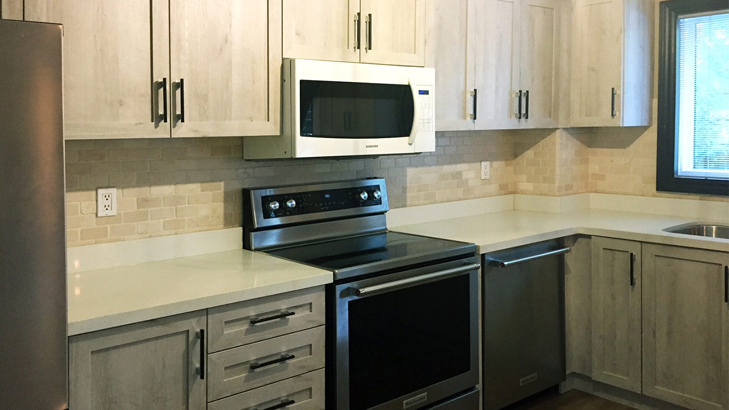 What Is Kitchen Cabinet Refacing How It S Done The Home Depot Canada