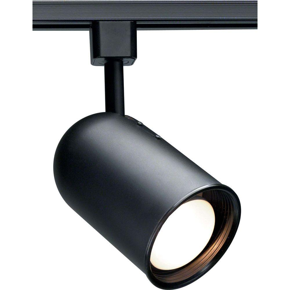 Home Depot Juno Led Lighting Lithonia Lighting Baffle 1-light Black Track Lighting