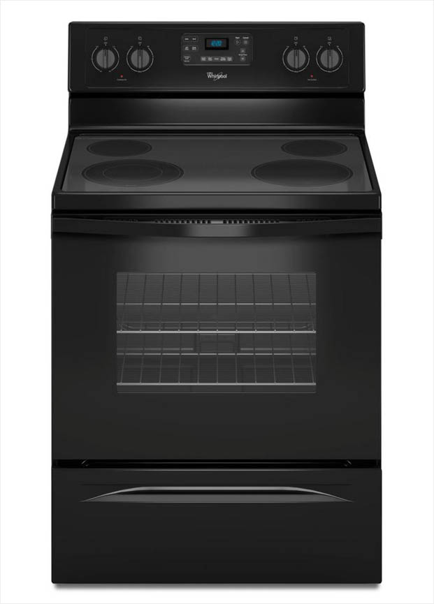 Oven Whirlpool Whirlpool 5.3 Cu. Ft. Electric Range With Self-cleaning