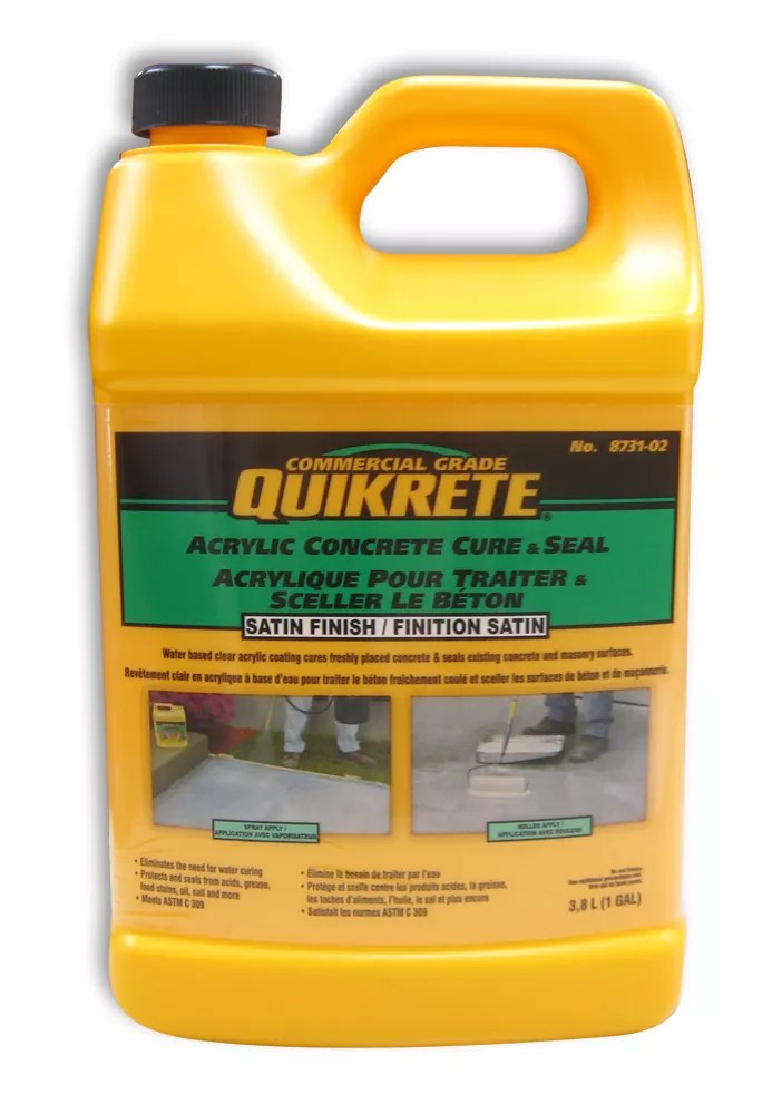 Quikrete Acrylic Concrete Sealer 3 8l The Home Depot Canada