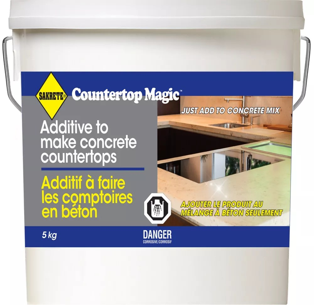 Sakrete Sakrete Countertop Magic 5 Kg The Home Depot Canada