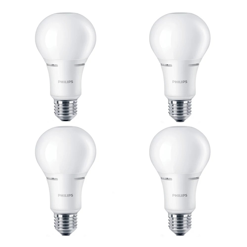 Philips 75w Equivalent Soft White Warmglow 2700k 2200k A21 Led Light Bulb Energy Star The Home Depot Canada