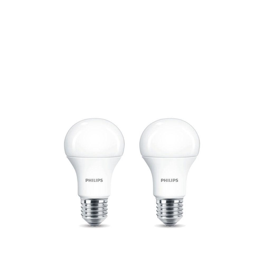 Philips 15w 100w Daylight A19 Led Light Bulb 2 Pack The Home Depot Canada