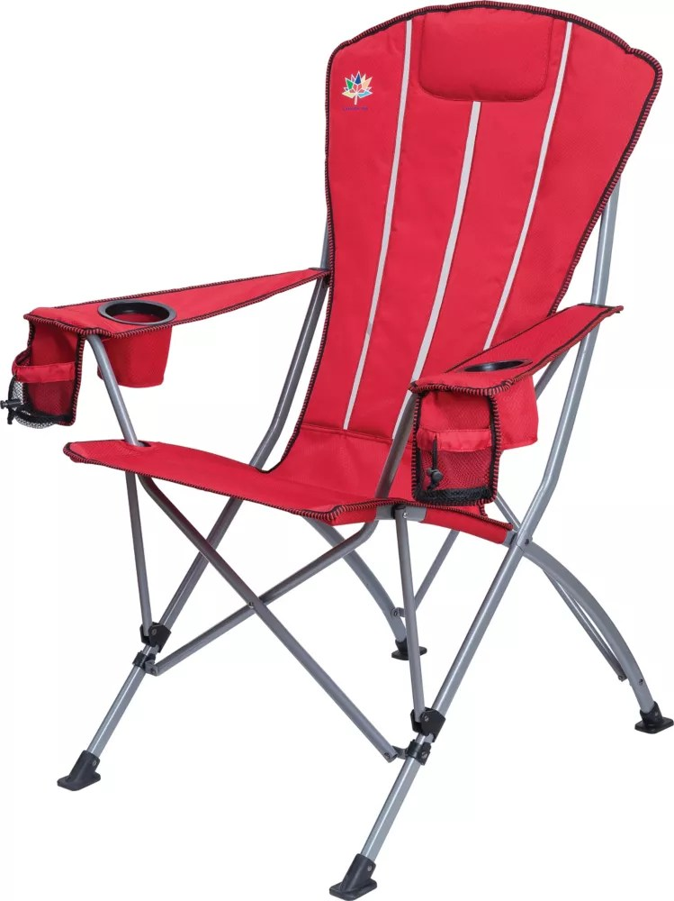 Hdg Fauteuil Pliant Muskoka Rouge Home Depot Canada