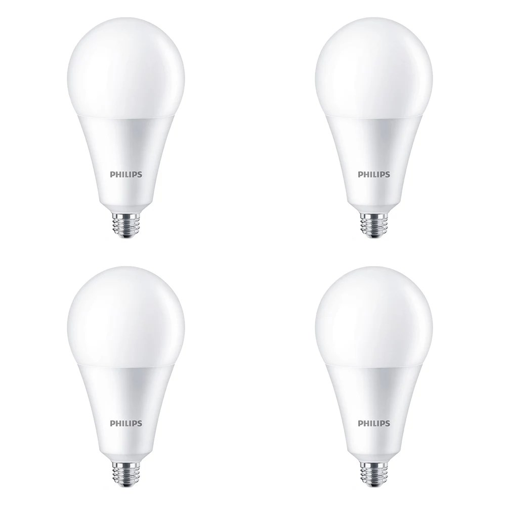Philips 24w 200w Daylight Deluxe A35 Non Dimmable Led Light Bulb 4 Pack The Home Depot Canada