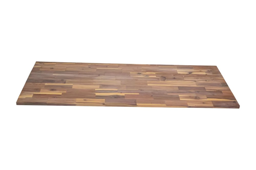 Home Decorators Collection 72 Inch X 25 5 Inch X 1 Inch Hardwood Countertop In Organic Whi The Home Depot Canada