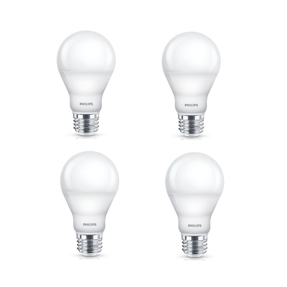 Philips 10w 60w Daylight A19 Dimmable Led Light Bulb 4 Pack The Home Depot Canada