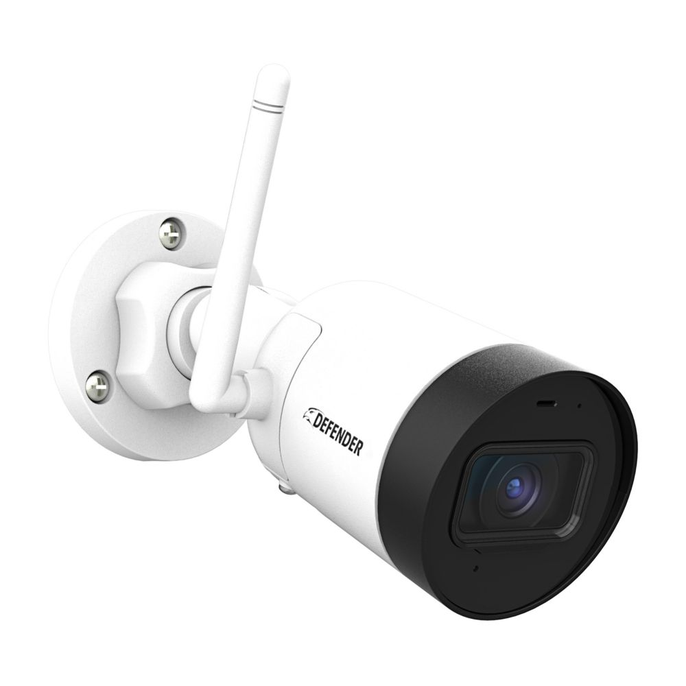 Defender Guard 4mp 2k Resolution Indoor Outdoor Security Surveillance Wi Fi Ip Camera Wi The Home Depot Canada