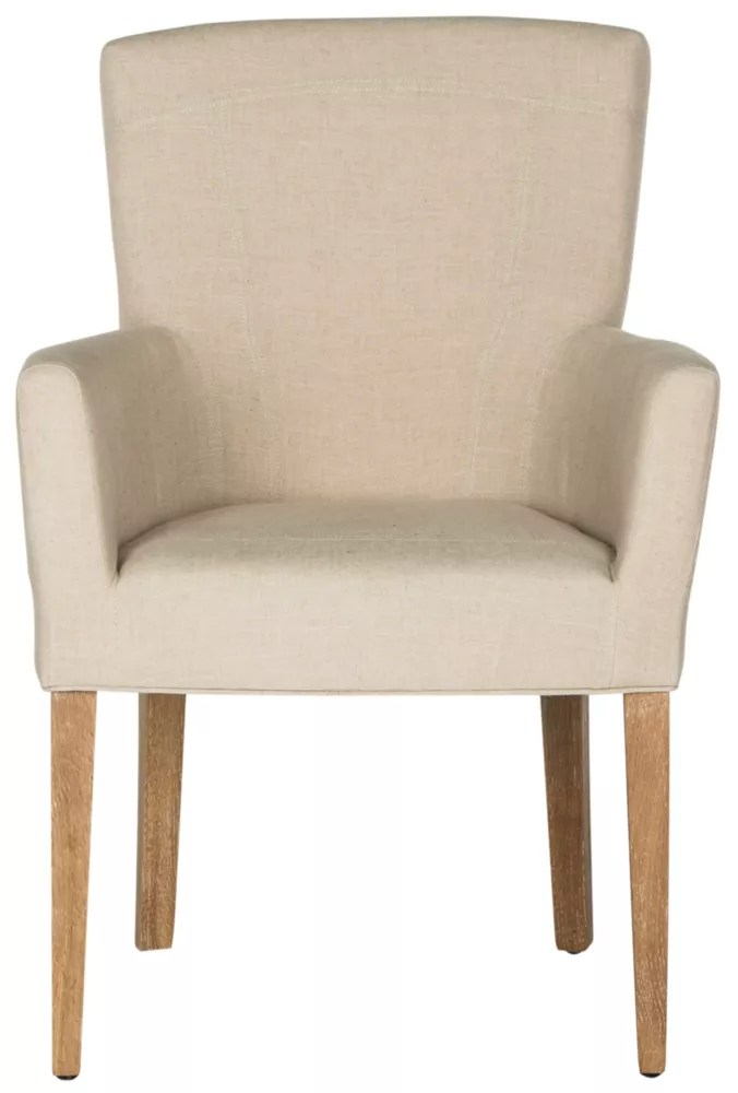 Safavieh Dale Fauteuil Beige Home Depot Canada