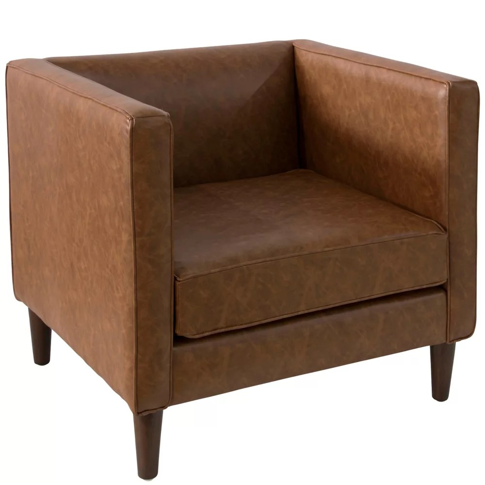 Skyline Furniture Bucktown Fauteuil En Sonoran Saddle Brown Home Depot Canada