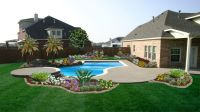 Backyard Ideas Divine Landscaping Large Areas Modern ...