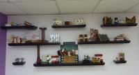 Furniture Interior Wall To Wall Shelves Decorative Wall ...