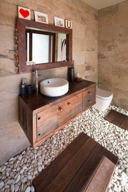 Japanese Themed Decor 22 Ways To Boost And Refresh Your Bathroom By Adding Wood