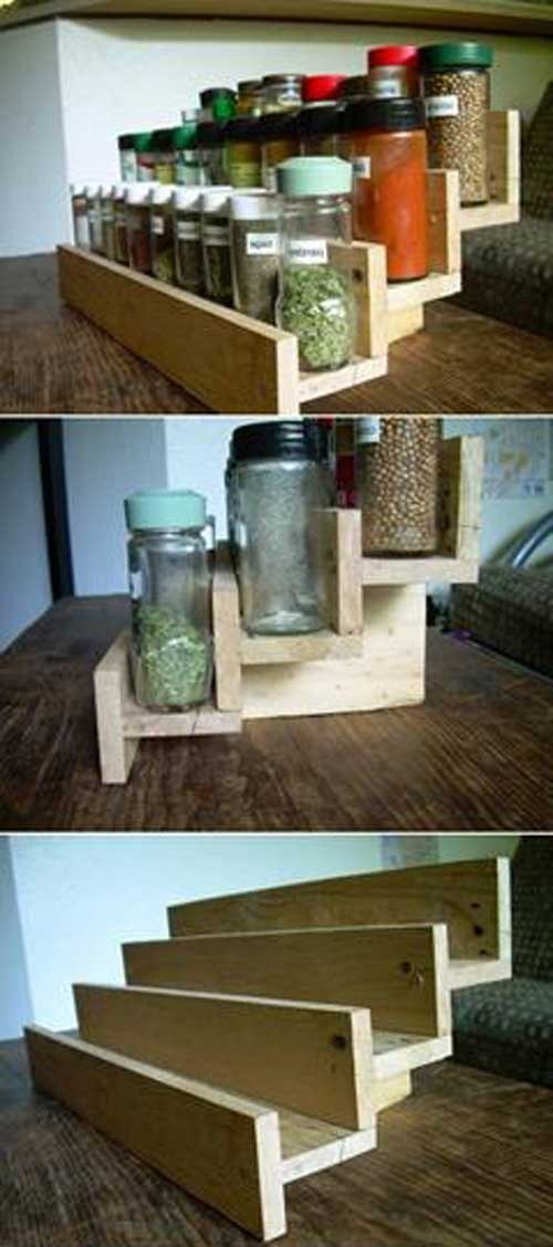 Spice Rack Top 23 Cool Diy Kitchen Pallets Ideas You Should Not Miss