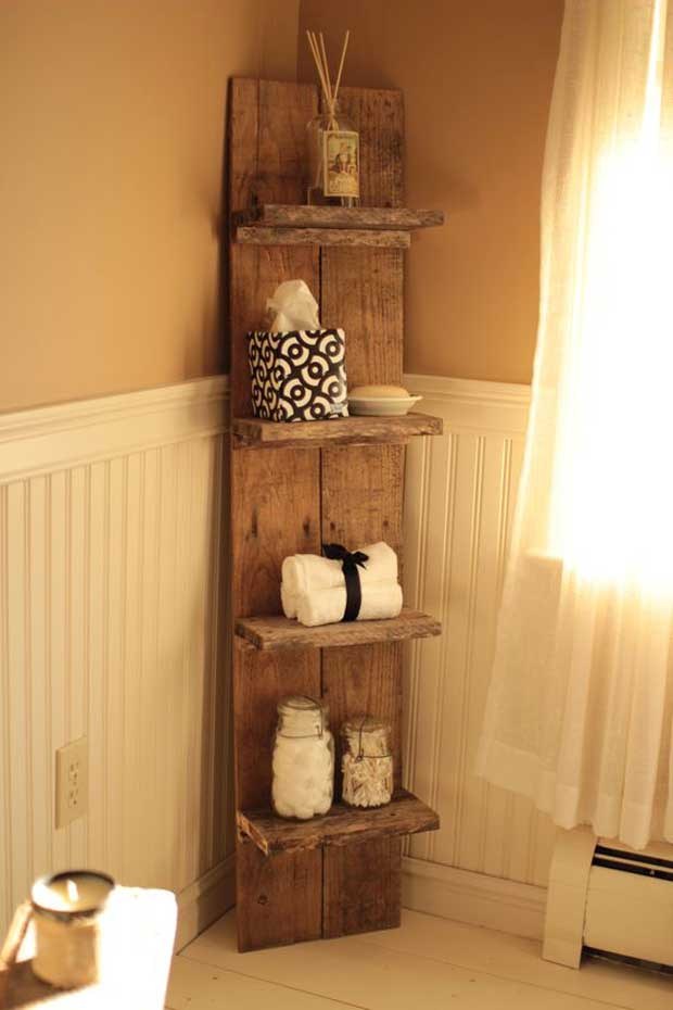 Muebles Para Tv Con Tarimas Decorative Rustic Storage Projects For Your Bathroom