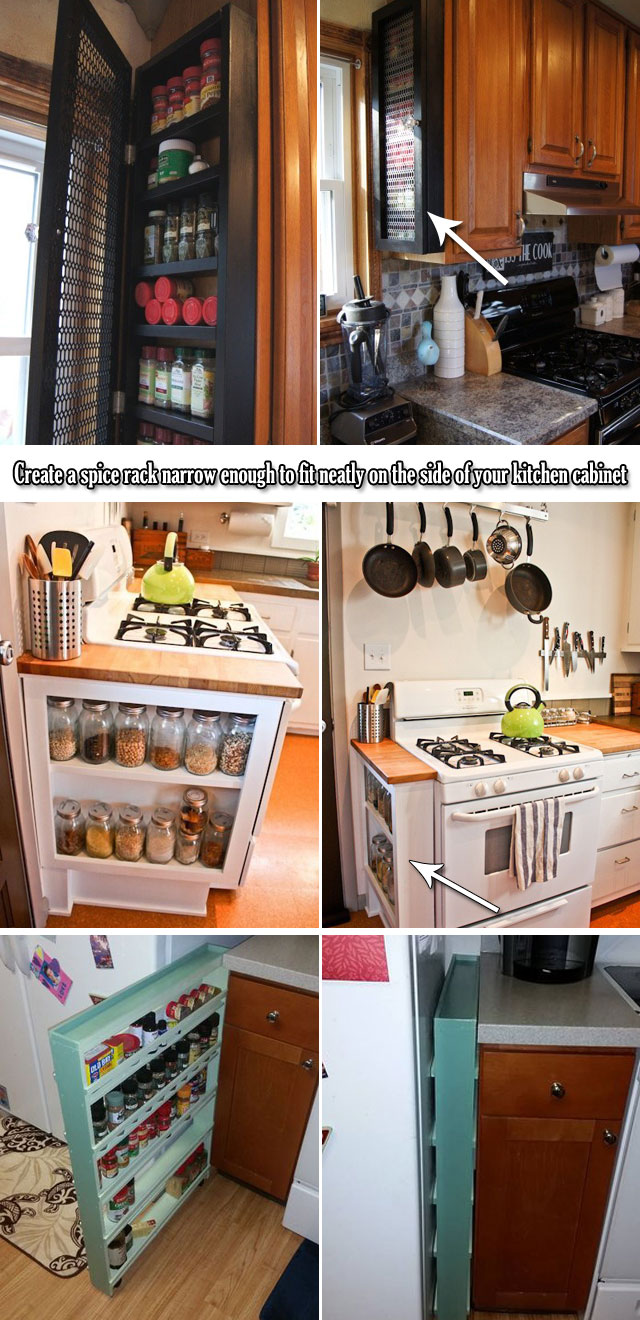 End Of Kitchen Cabinet Ideas 20 Genius Ideas For Using Wasted Space On Kitchen Ends Of Cabinet