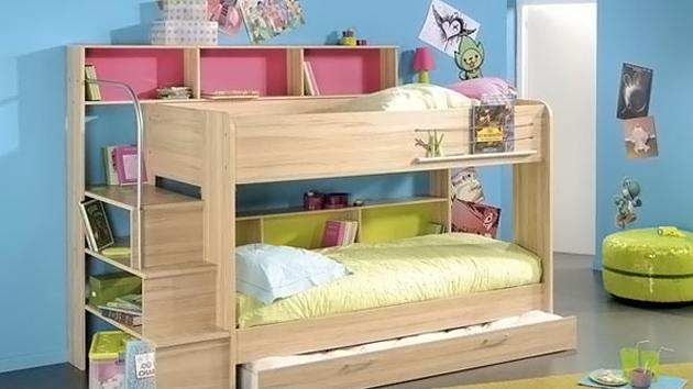 Kid39s Bedroom Furniture Space Saving Bunk Beds Home Design Lover