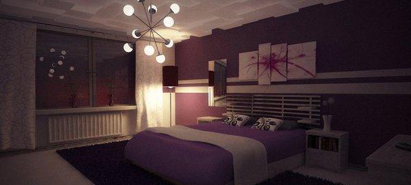 Edgy Girl Wallpaper 15 Ravishing Purple Bedroom Designs Home Design Lover