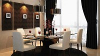 20 Gorgeous Black and White Dining Areas For Your Home ...