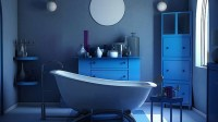 18 Cool and Charming Blue Bathroom Designs | Home Design Lover