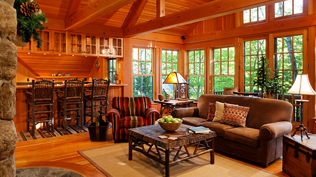 15 Warm and Cozy Country Inspired Living Room Design Ideas Home - country style living room furniture