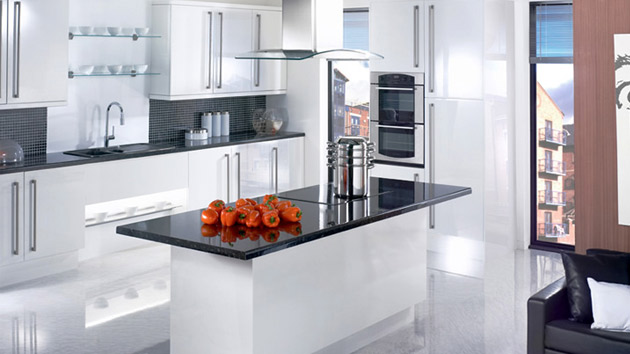 Kitchen Cabinet Doors South Africa 17 White And Simple High Gloss Kitchen Designs | Home
