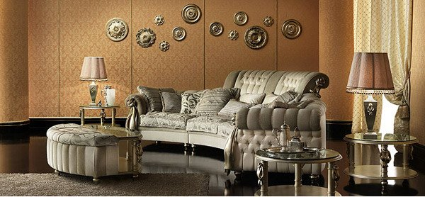 Baroque Sofa Set 15 Baroque Designed Living Rooms | Home Design Lover