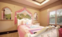 15 Pretty and Enchanting Girls Themed Bedroom Designs ...