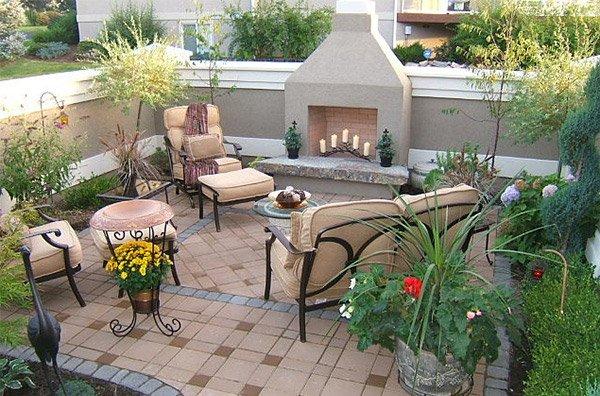 15 Traditional Courtyard Gardens Home Design Lover