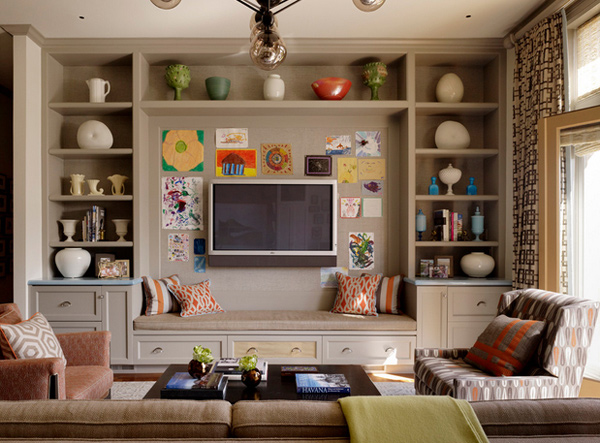 Living Room With Tv On Wall Designs Ideas Throughout Design - tv in living room