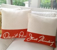 Words and Quotes on 15 Throw Pillow Designs | Home Design ...