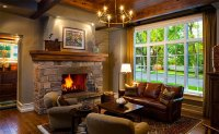 15 Warm Craftsman Living Room Designs | Home Design Lover