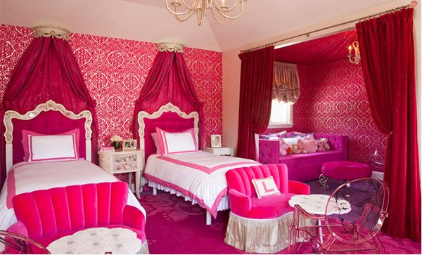 15 Chic And Hot Pink Bedroom Designs | Home Design Lover