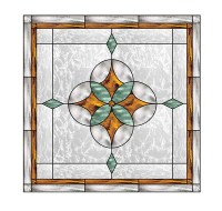 15 Well-Made Stained Glass Window Panels   Home Design Lover