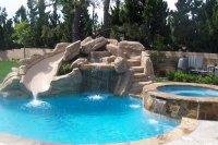 15 Gorgeous Swimming Pool Slides | Home Design Lover