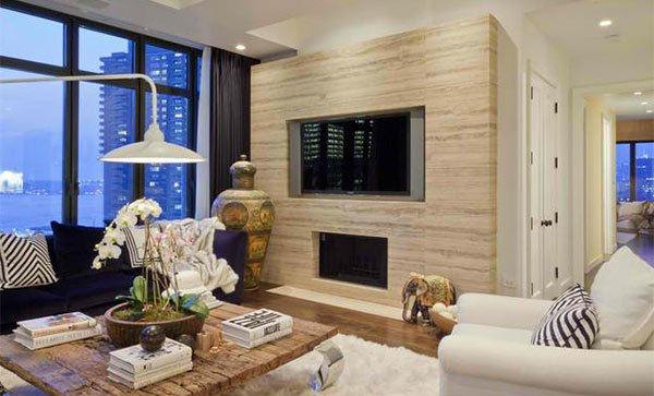 Tapete Modern Design 15 Ideas For Tv Built-in Media Wall In Modern Living Rooms