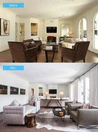 15 Impressive Before and After Photos of Living Room ...