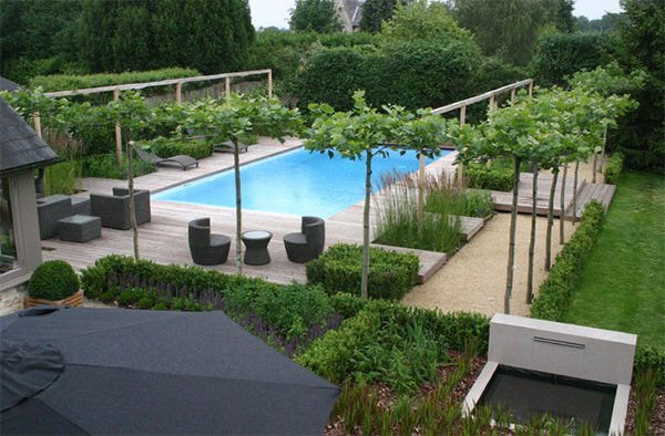 Garden Ideas For Around The Pool 20 Breathtaking Ideas For A Swimming Pool Garden | Home