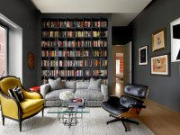 22 Interesting Ways to Add Bookshelves in the Living Room
