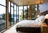 22 Bedrooms With Floor to Ceiling Windows