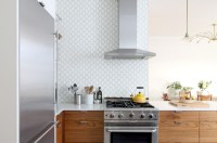 20 Geometric Backsplash Tiles in the Kitchen | Home Design ...