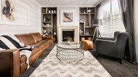 22 Gorgeous Brown and Gray Living Room Designs   Home ...