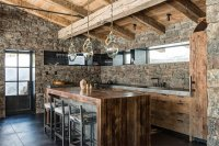 22 Appealing Rustic Modern Kitchen Design Ideas | Home ...